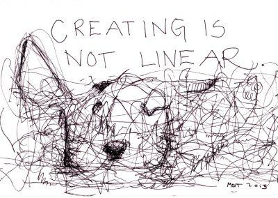 Luominen ei ole lineaarista.